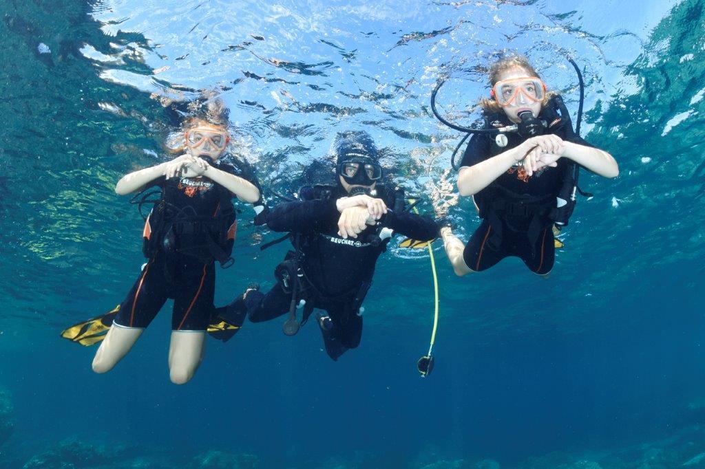 1er Plongée Aqualonde Experience (AE)